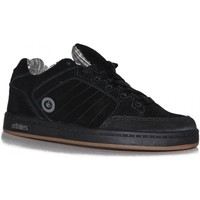 Chaussures Garçon Baskets basses Etnies samples shoes  SHECKLER BLACK ORANGE KIDS / ENFANTS Noir