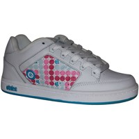 Baskets basses Etnies samples shoes  SHECKLER WHITE BLUE KIDS / ENFANTS