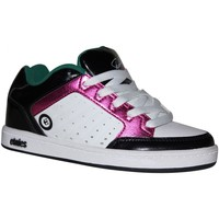 Chaussures Fille Baskets basses Etnies samples shoes  SHECKLER WHITE PINK BLACK KIDS / ENFANT Multicolore