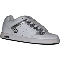 Chaussures Fille Baskets basses Etnies samples shoes  SHECKLER WHITE SILVER KIDS / ENFANTS Blanc