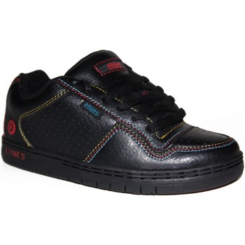 Chaussures Garçon Baskets basses Etnies samples shoes  TEAM 1 BLACK BLACK BLUE KIDS / ENFANTS Noir