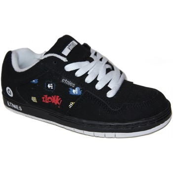 Chaussures Garçon Baskets basses Etnies samples shoes  TEAM 1 BLACK PRINT MULTI KIDS / ENFANTS Noir