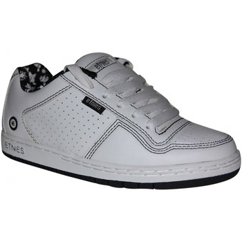 Chaussures Garçon Baskets basses Etnies samples shoes  TEAM 1 WHITE WHITE BLACK KIDS / ENFANTS Blanc