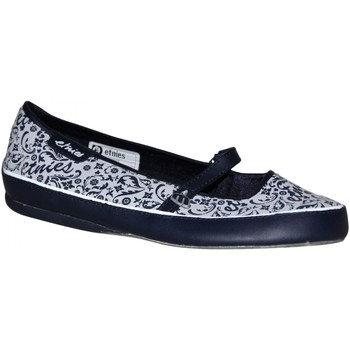 Ballerines / babies Etnies samples shoes  THE WAFE NAVY WHITE WOMEN
