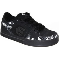 Baskets basses Etnies samples shoes  TRADER BLACK WHITE GREY PRINT KIDS / EN