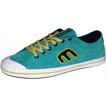Baskets basses Etnies samples shoes  VANAH GREEN WHITE YELLOW WOMEN