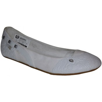 Chaussures Femme Ballerines / babies Etnies samples shoes  ZOE FLATS WHITE WOMEN Blanc