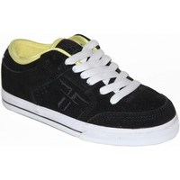 Chaussures Garçon Baskets basses Fallen samples shoes  RIPPER BLACK YELLOW KIDS / ENFANTS Noir