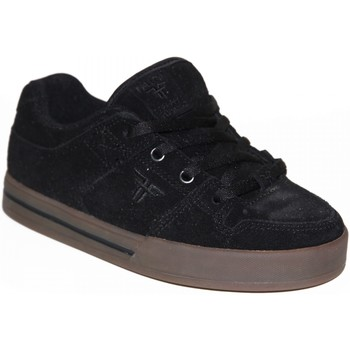 Chaussures Garçon Baskets basses Fallen samples shoes  RIVAL SLIM BLACK GUM KIDS / ENFANTS Noir