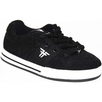 Chaussures Garçon Baskets basses Fallen samples shoes  RIVAL SLIM BLACK WHITE KIDS / ENFANTS Noir et Blanc
