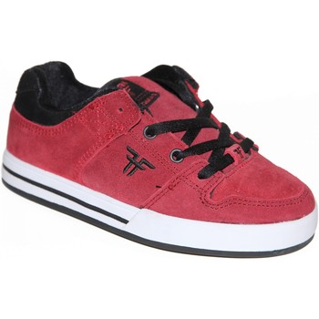 Chaussures Garçon Baskets basses Fallen samples shoes  RIVAL SLIM CRIMSON BLACK KIDS / ENFANTS Noir