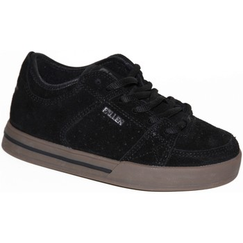 Chaussures Garçon Baskets basses Fallen samples shoes  TROOPER BLACK GUM KIDS / ENFANTS Noir