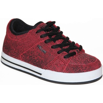 Chaussures Garçon Baskets basses Fallen samples shoes  TROOPER OXBLOOD KIDS / ENFANTS Rouge