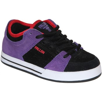 Chaussures Garçon Baskets basses Fallen samples shoes  TROOPER PURPLE BLACK RED KIDS / ENFANTS Multicolore