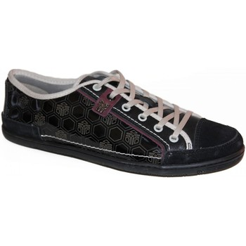 Chaussures Homme Baskets basses Fenchurch samples shoes  FENBASE BLACK MEN Noir