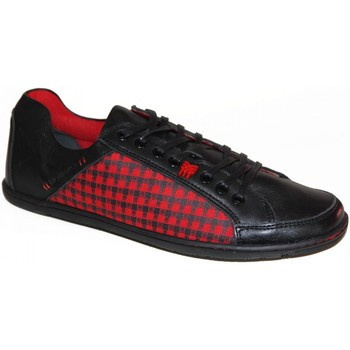 Chaussures Homme Baskets basses Fenchurch samples shoes  FENPLAID BLACK MEN Noir