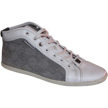 Chaussures Homme Baskets montantes Fenchurch samples shoes  FENQUILT WHITE MEN Blanc
