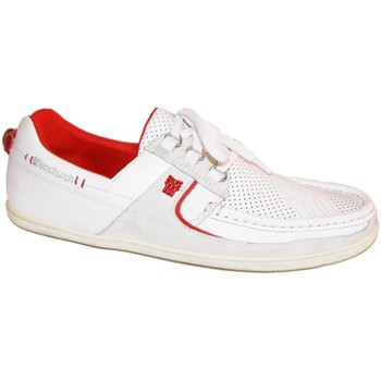 Chaussures Homme Baskets basses Fenchurch samples shoes  FENSPEED WHITE MEN Blanc