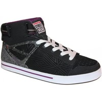 Baskets montantes Vision Street Wear samples shoes HI TOP  CRUSADERMID BLACK CH