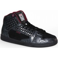 Baskets montantes Vision Street Wear samples shoes HI TOP  EL CENTRO BLACK EGG