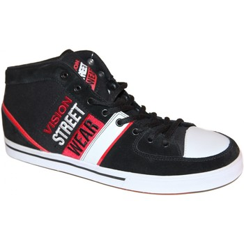 Baskets montantes Vision Street Wear samples shoes HI TOP  SANTIAGO BLACK RED W