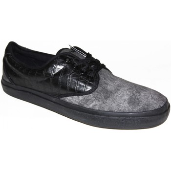 Chaussures Homme Baskets basses Draven samples shoes LOW  CHICO BLACK CHARCOAL MEN Noir