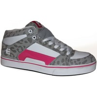 Baskets montantes Etnies samples shoes MID TOP  RVM GREY PINK WHITE WOMEN