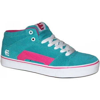 Baskets montantes Etnies samples shoes MID TOP  RVM TURQUOISE WOMEN