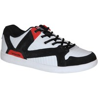 Baskets basses Vision Street Wear samples shoes MID TOP  BALLISTIC BLACK RED