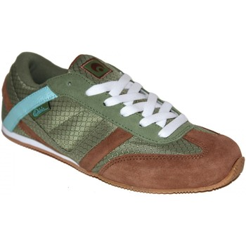 Chaussures Femme Baskets basses Osiris Sneakers Femme samples shoes OCEAN DRIVE OLIVE BROWN WOMEN Kaki