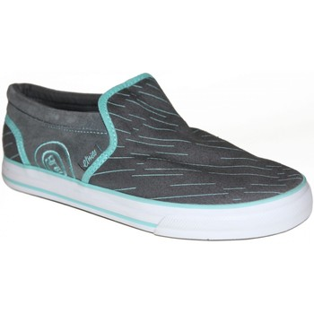 Chaussures Femme Slips on Etnies samples shoes SLIP ON  FAKIE GREY BLUE WOMEN Gris
