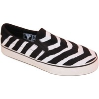 Slips on Fallen samples shoes SLIP ON  LOKER BLACK WHITE STRIKER MEN