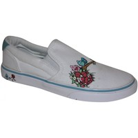 Slips on Osiris samples shoes SLIP ON  SCOOP WHITE BLUE BIRDY BUNCH WO