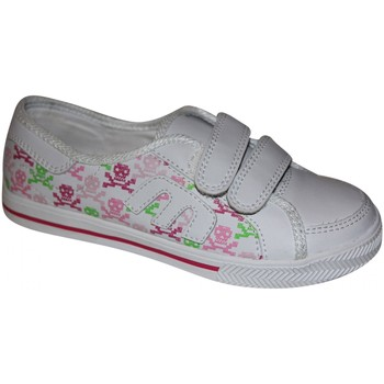 Chaussures Fille Baskets basses Etnies samples shoes VELCRO  MISSY WHITE PINK WHITE KIDS / EN Blanc