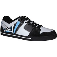 Baskets basses Vision Street Wear samples shoes VISION BAILOUT BLACK WHITE GATOR MEN