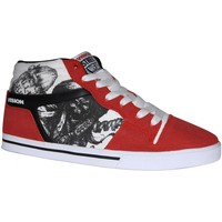 Baskets montantes Vision Street Wear samples shoes VISION CAMARO RED BLACK WHITE MEN