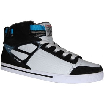 Baskets montantes Vision Street Wear samples shoes VISION CRUSADER MID WHITE BLACK MEN