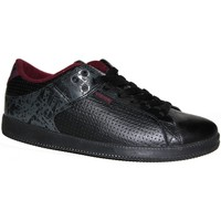 Baskets basses Vision Street Wear samples shoes VISION MESA BLACK EGG PLANT MEN
