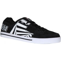 Baskets basses Vision Street Wear samples shoes  BAILOUT BLACK WHITE WOMEN