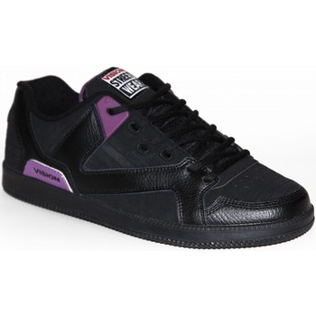 Baskets basses Vision Street Wear samples shoes  BALLISTIC BLACK PURPLE MEN
