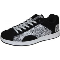 Baskets basses Vision Street Wear samples shoes  BIGGY REDUX BLACK WHITE MEN