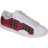 Baskets basses Vision Street Wear samples shoes  BONITA WHITE PLAID WOMEN