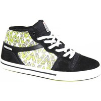 Baskets montantes Vision Street Wear samples shoes  CAMARO BLACK WHITE GUT MEN