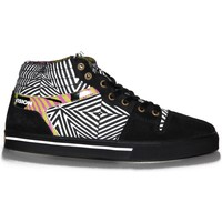 Baskets montantes Vision Street Wear samples shoes  CAMARO BLACK WHITE NARCISSU