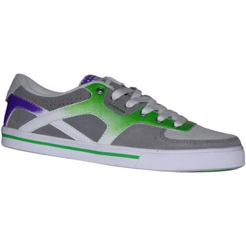 Baskets basses Vision Street Wear samples shoes  CONTEDA GREY GREEN PURPLE W