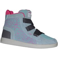 Baskets montantes Vision Street Wear samples shoes  DILUTA HI GREY GREEN PINK W