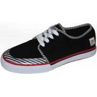 Baskets basses Vision Street Wear samples shoes  EAST 20TH BLACK WHITE MEN
