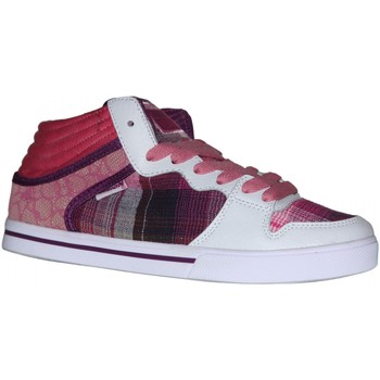 Baskets montantes Vision Street Wear samples shoes  LAFONDA PINK WOMEN