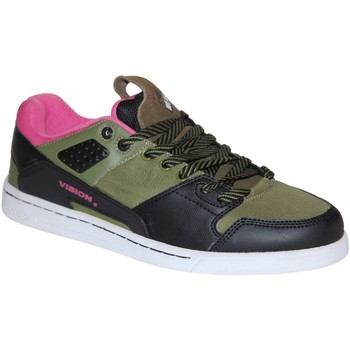 Baskets basses Vision Street Wear samples shoes  LIBERATOR BLACK OLIVE MEN
