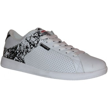 Baskets basses Vision Street Wear samples shoes  MESA WHITE BLACK MEN